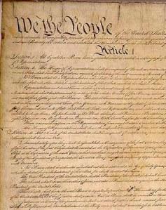 U.S. Constitution image