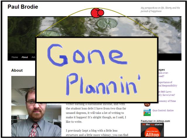 gone plannin