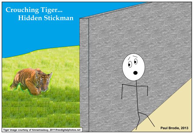 tiger stickman